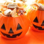 Candy in Pumpkins